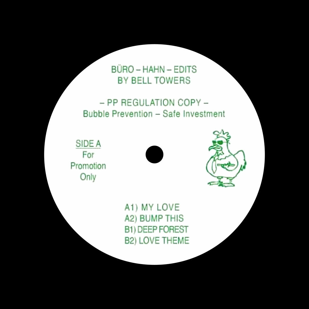 "Bell Towers Büro-Hahn Edits Public Possession 12"", Reissue Vinyl"