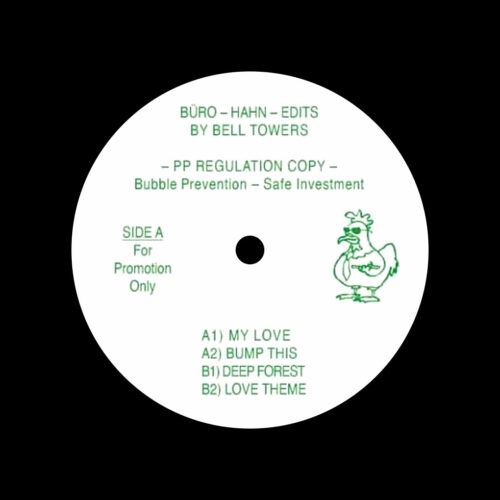 "Bell Towers Büro-Hahn Edits Public Possession 12"", Reissue Vinyl"