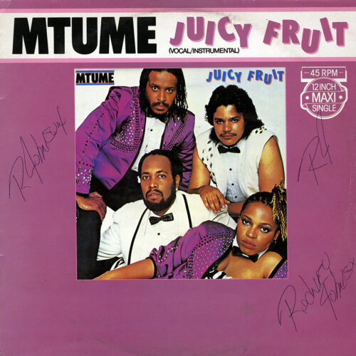"Mtume Juicy Fruit Epic 12"", Maxi Vinyl"