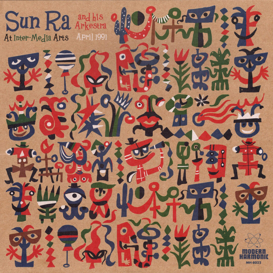 Sun Ra And His Arkestra At Inter-Media Arts, 1991 Modern Harmonic 3xLP, Reissue Vinyl