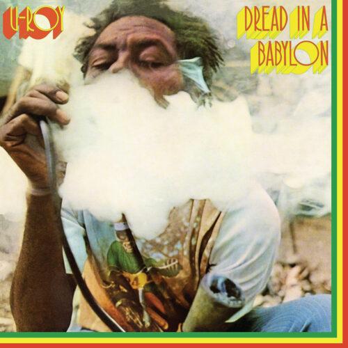 U-Roy Dread In A Babylon Get On Down LP, Reissue Vinyl