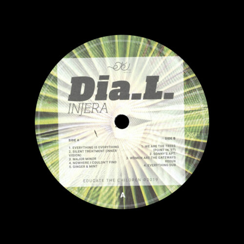 "Dia L Injera Etc Records 12"" Vinyl"