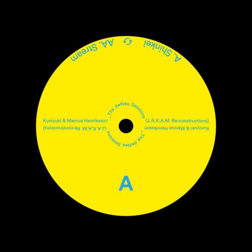"Kuniyuki, Marcus Henriksson The DNA Sessions (Jakam reconstructions) Malka Tuti 12"" Vinyl"