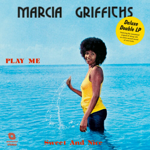 Marcia Griffiths Sweet & Nice Be With Records 2xLP, Reissue Vinyl