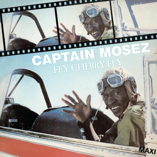 "Captain Mosez Fly Cherry Fly / Hey Hey Hey Afrosynth 12"", Reissue Vinyl"