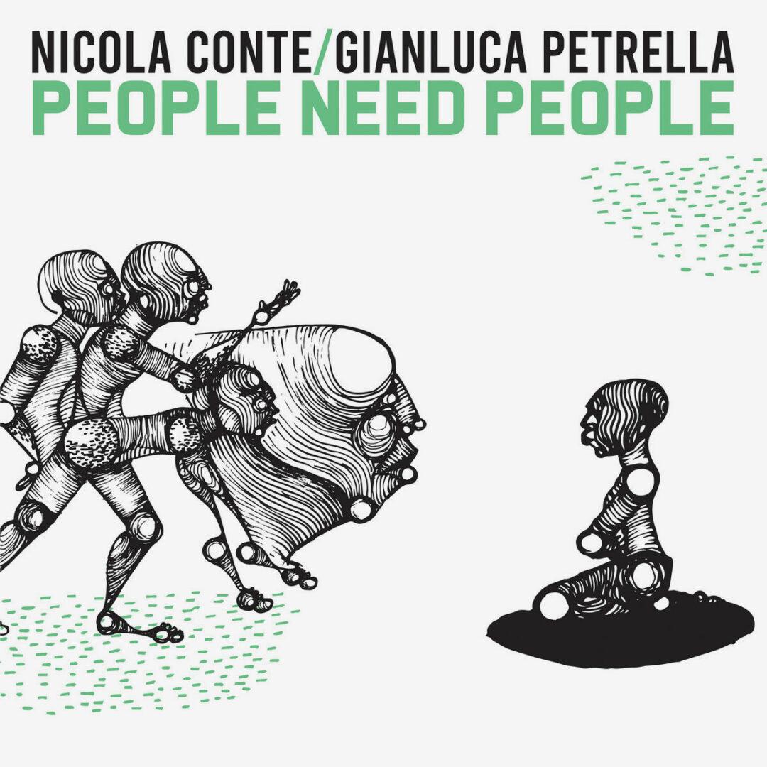 Gianluca Petrella, Nicola Conte People Need People Schema LP Vinyl