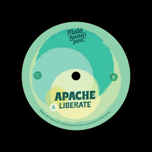 """Apache Liberate / Hombre Matasuna Rec 7"""" Vinyl"""