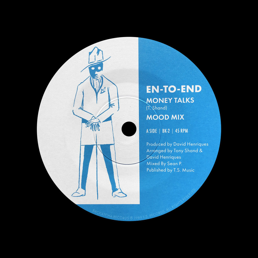 """En-To-End Money Talks (Mood Mix) / Are You Gonna Be Backatcha Records 7"""", Reissue Vinyl"""