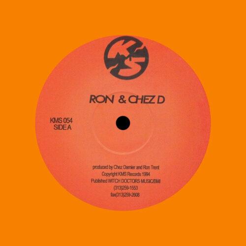 """Chez Damier, Ron Trent Untitled KMS054 KMS 12"""", Reissue Vinyl"""