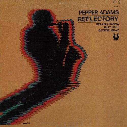 Pepper Adams Reflectory Muse Records LP Vinyl