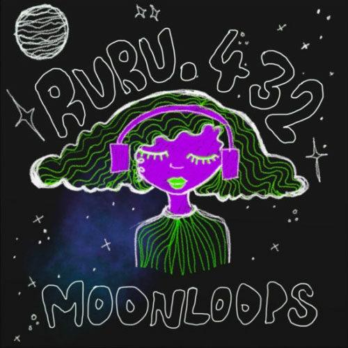 """Ruru432 Moonloops Inner Tribe Records 7"""" Vinyl"""