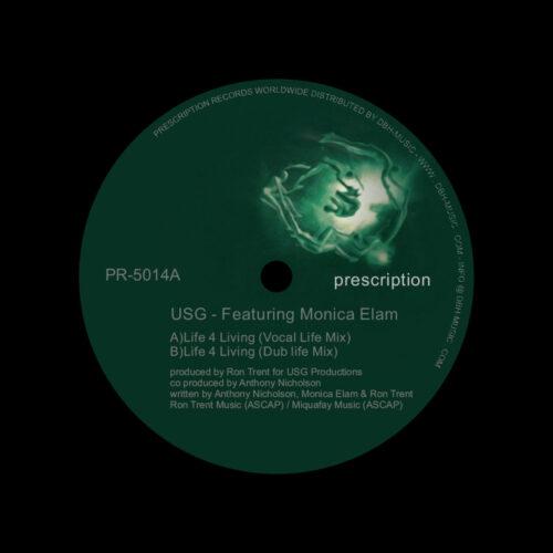 """Monica Elam, USG Life 4 Living Prescription 12"""" Vinyl"""
