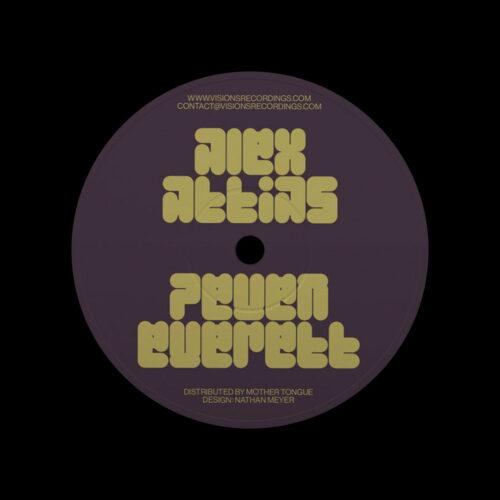 "Alex Attias, Peven Everett Love Dimension Visions Inc 12"" Vinyl"
