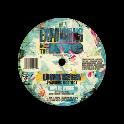 "Louie Vega Expansions In The NYC Preview EP2 Nervous Records 12"" Vinyl"