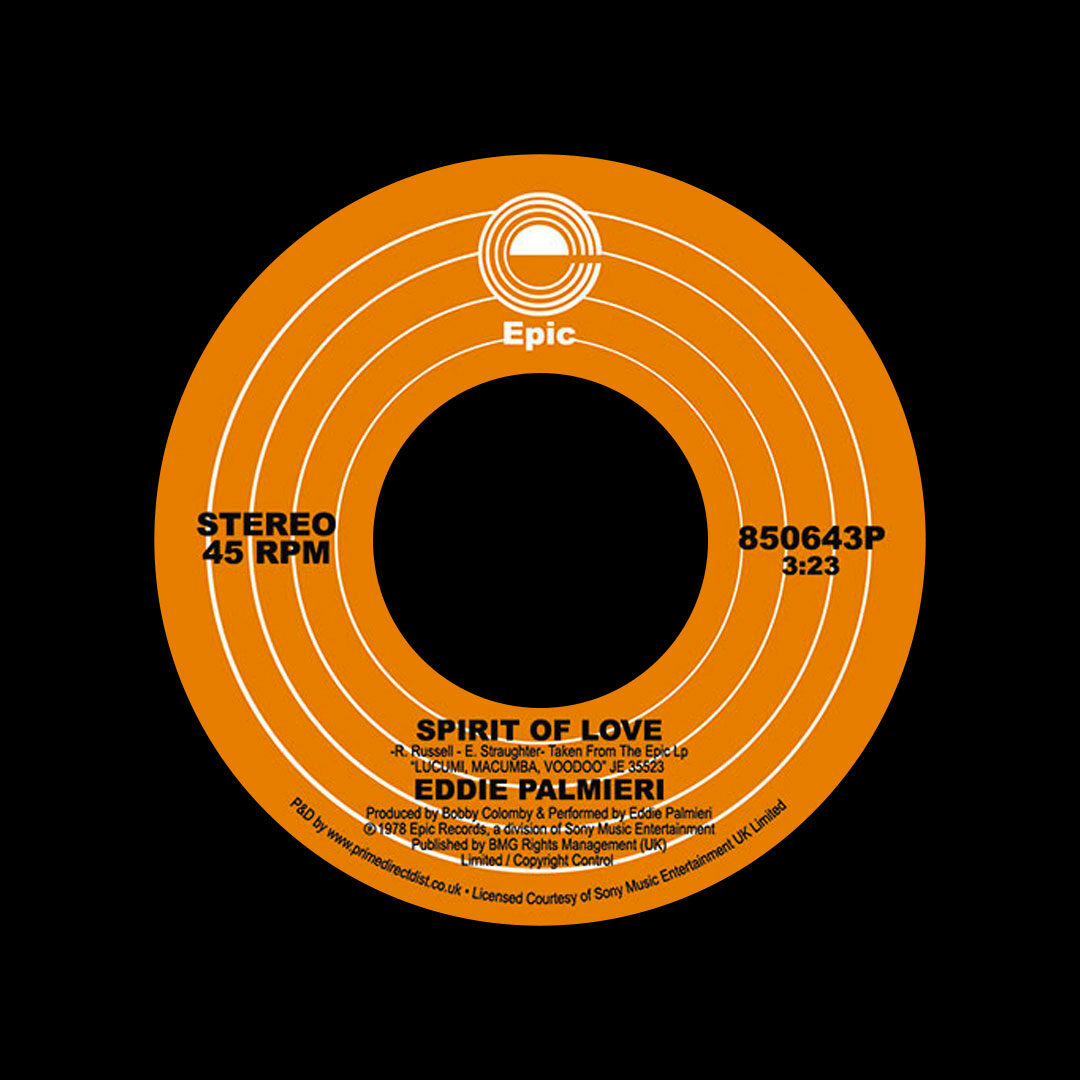 """Eddie Palmieri Spirit Of Love Epic 7"""", Reissue Vinyl"""
