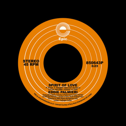 "Eddie Palmieri Spirit Of Love Epic 7"", Reissue Vinyl"