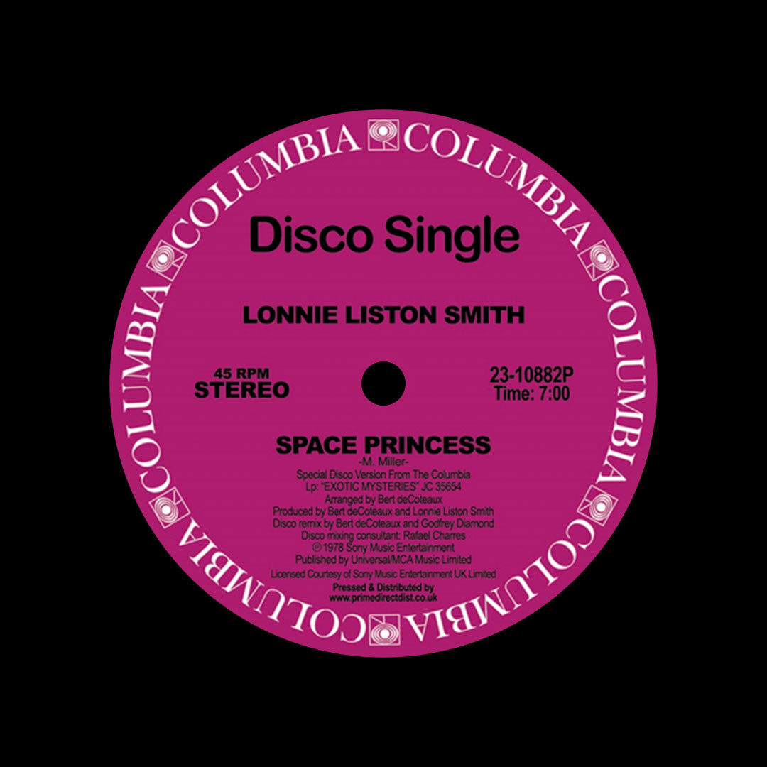 "Lonnie Liston Smith Space Princess / Quiet Moments Columbia 12"", Reissue Vinyl"