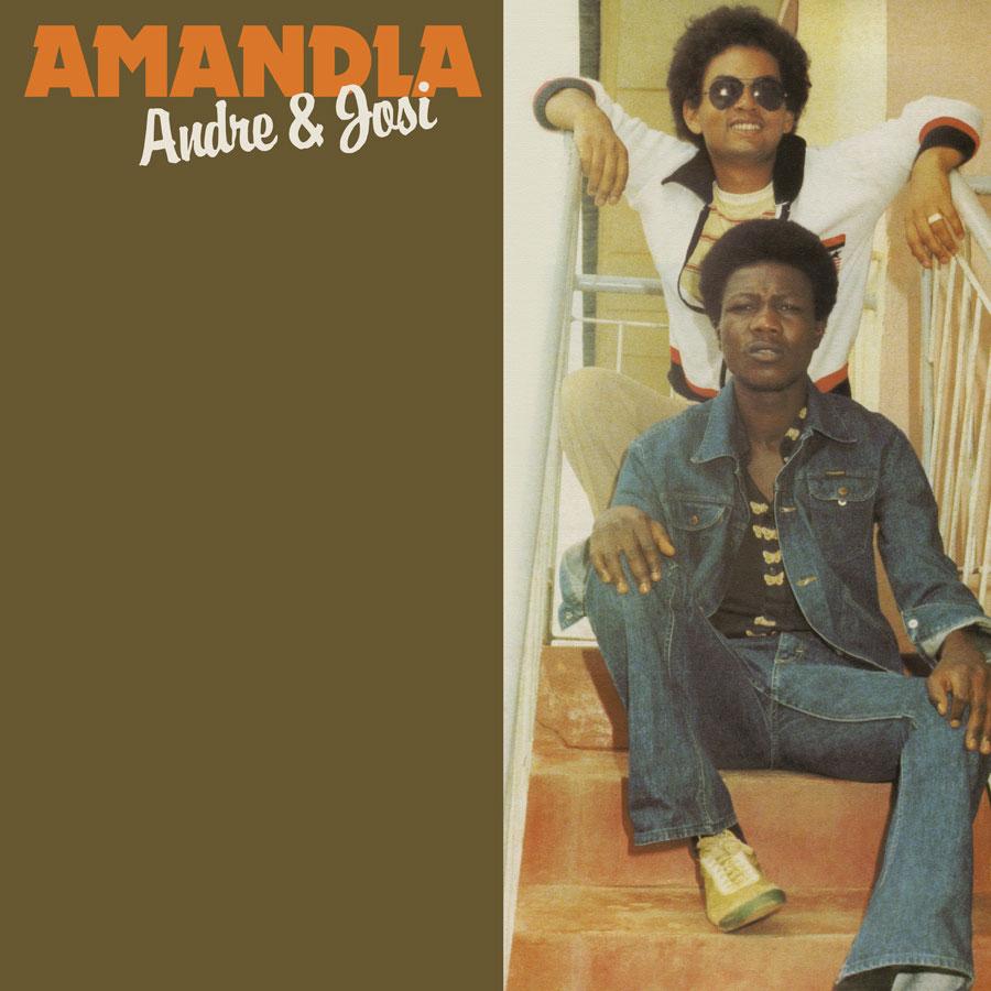 Andre & Josi Amandla Tidal Waves Music LP, Reissue Vinyl