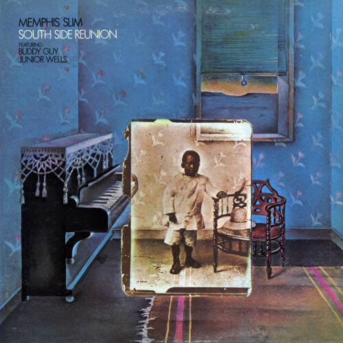 Memphis Slim South Side Reunion Warner Bros. Records LP, Promo Vinyl