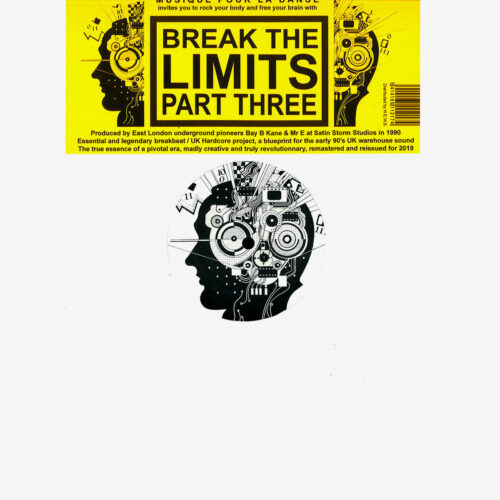 "Break The Limits BTL, Part Three Musique Pour La Danse 12"" Vinyl"