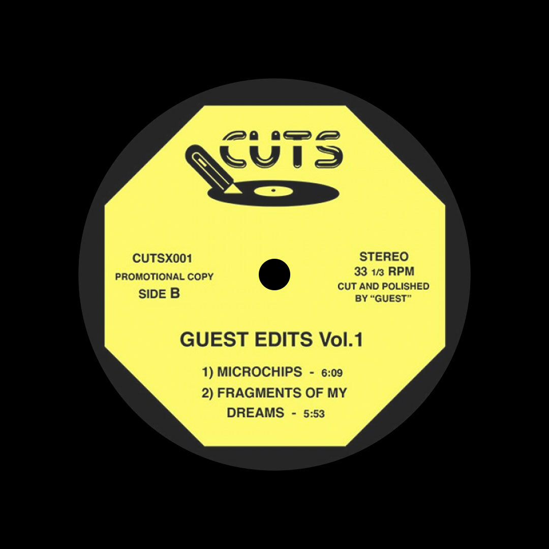 "Unknown Guest Edits, Vol. 1 Cuts 12"" Vinyl"