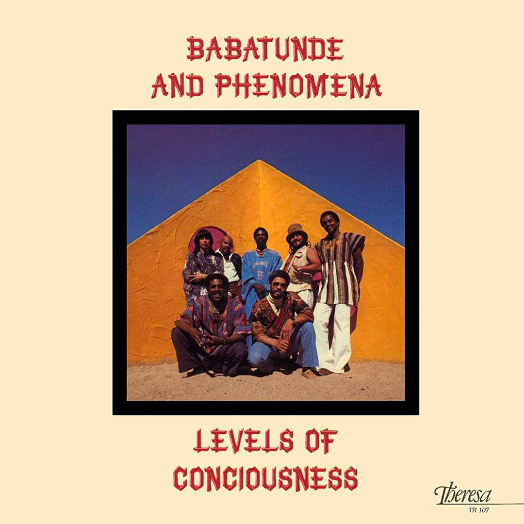 Babatunde and Phenomena Levels Of Conciousness Pure Pleasure LP, Reissue Vinyl