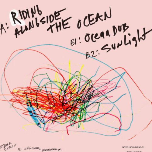 "Levon Vincent Riding Alongside The Ocean Novel Sound 12"" Vinyl"