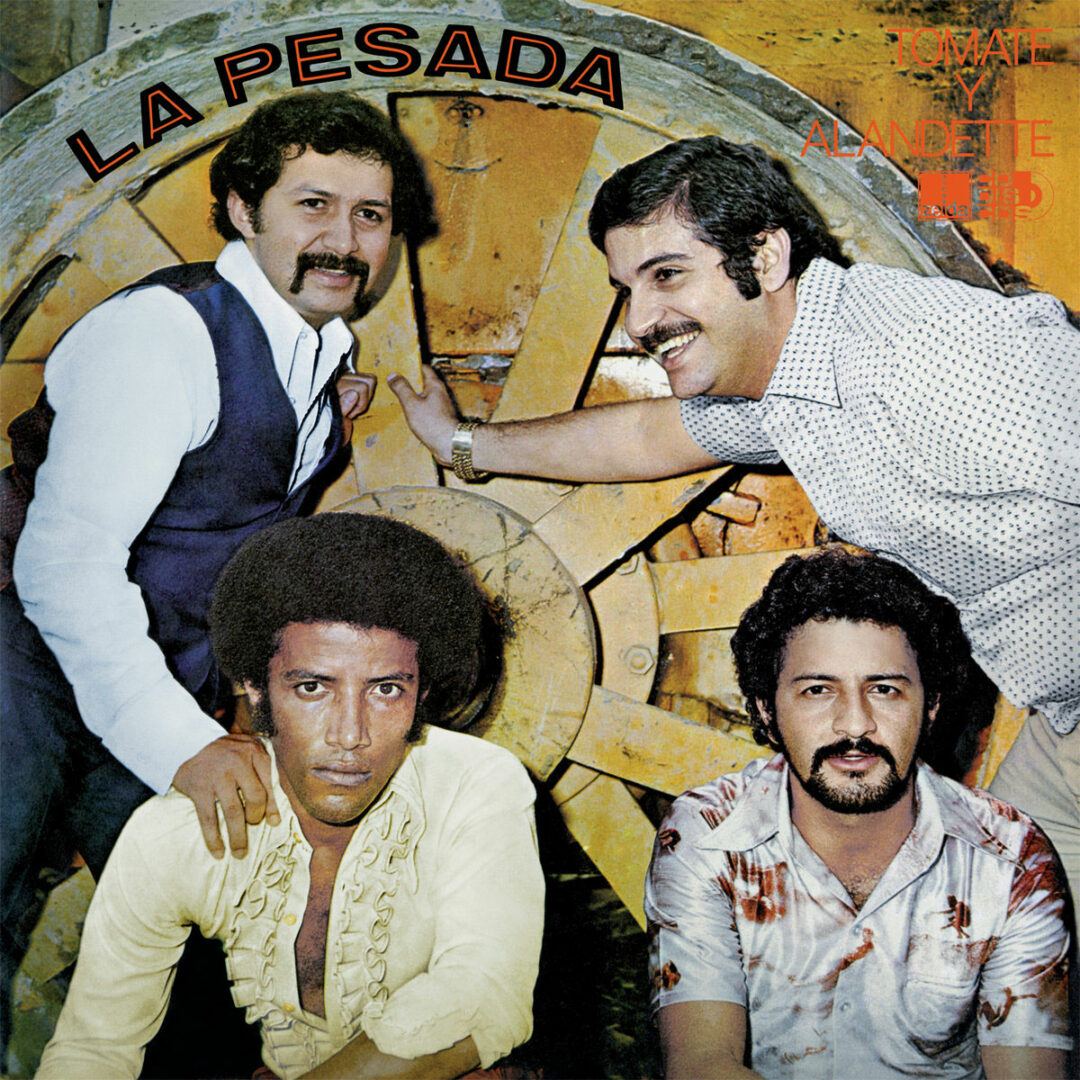 La Pesada Tomate Y Alandette Vampisoul LP, Reissue Vinyl
