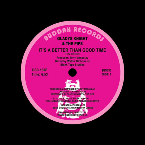 "Gladys Knight & The Pips It's A Better Than Good Time Buddha Records 12"", Reissue Vinyl"