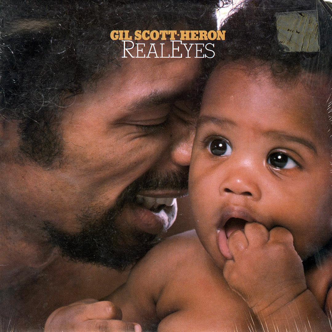 Gil Scott-Heron Real Eyes Arista LP Vinyl