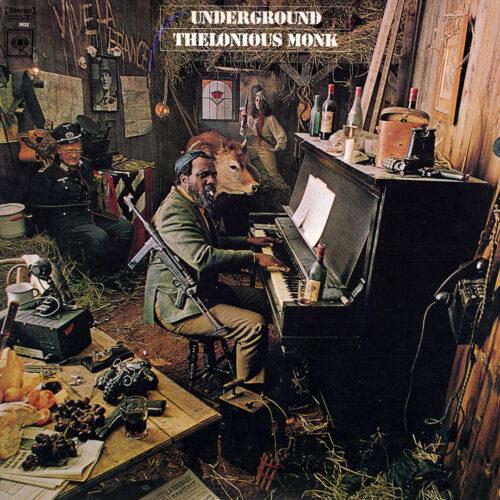 Thelonious Monk Underground Columbia LP, Reissue Vinyl