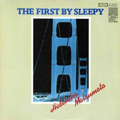 Hidehiko Matsumoto The First By Sleepy Toshiba Records LP Vinyl