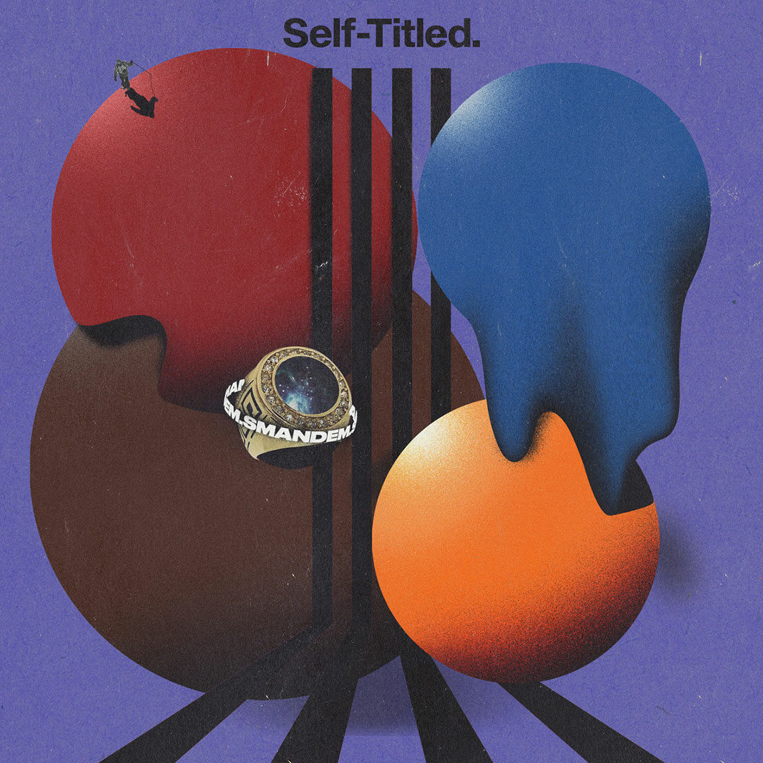 Smandem Self-Titled Super-Sonic Jazz LP Vinyl