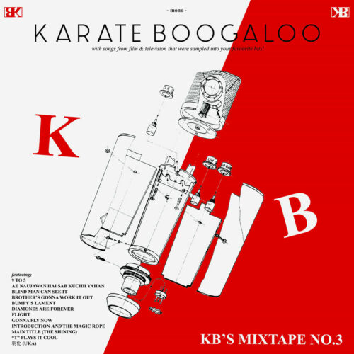 Karate Boogaloo KB's Mixtape, No. 3 College Of Knowledge Records LP Vinyl