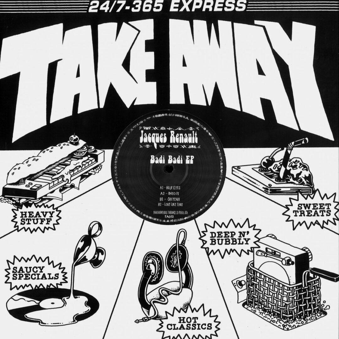 """Jacques Renault Badi Badi Take Away 12"""" Vinyl"""