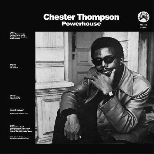 Chester Thompson Powerhouse Black Jazz, Real Gone Music LP, Reissue Vinyl