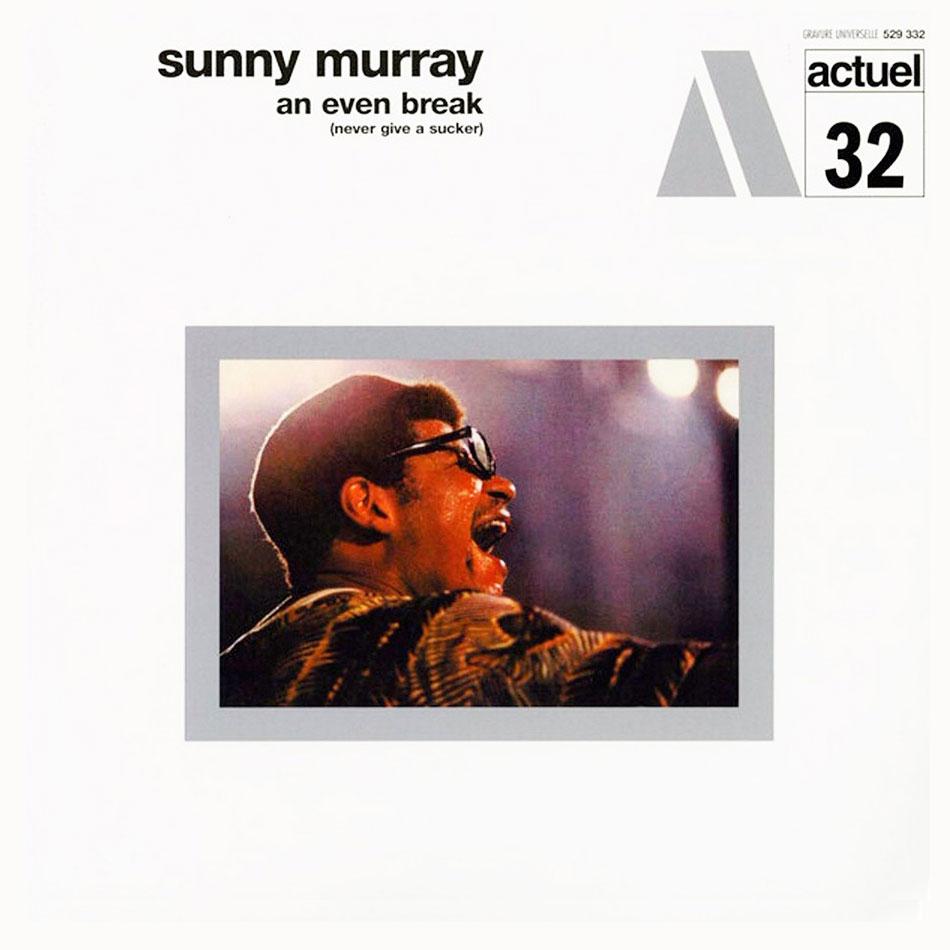 Sunny Murray An Even Break BYG Records 180g, LP, Reissue Vinyl