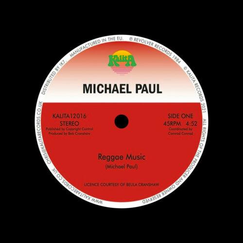 """Michael Paul Reggae Music Kalita Records 12"""", Reissue Vinyl"""