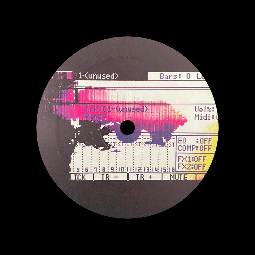 "Kyle Hall MPC Dreams Forget The Clock 12"" Vinyl"