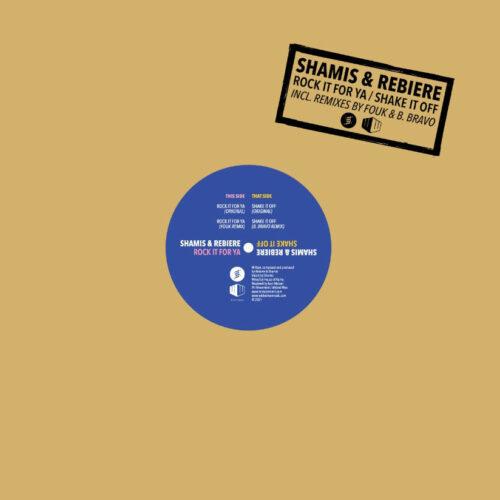 "Rebiere, Shamis Rock It For Ya / Shake It Off Ini Movement, Wicked Wax 12"" Vinyl"