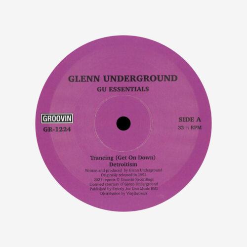 """Glenn Underground GU Essentials Groovin Recordings 12"""", Reissue Vinyl"""
