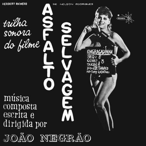 João Negrão Asfalto Selvagem Mad About Records LP, Reissue Vinyl