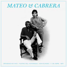 Mateo & Cabrera Mateo & Cabrera Bizarro Records, Orfeo LP, Reissue Vinyl
