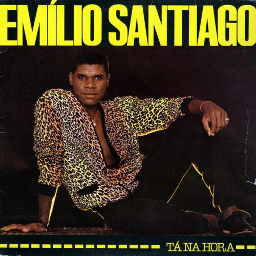 Emílio Santiago Tá Na Hora Philips LP Vinyl
