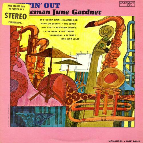 Gentleman June Gardner Bustin' Out Emarcy LP Vinyl