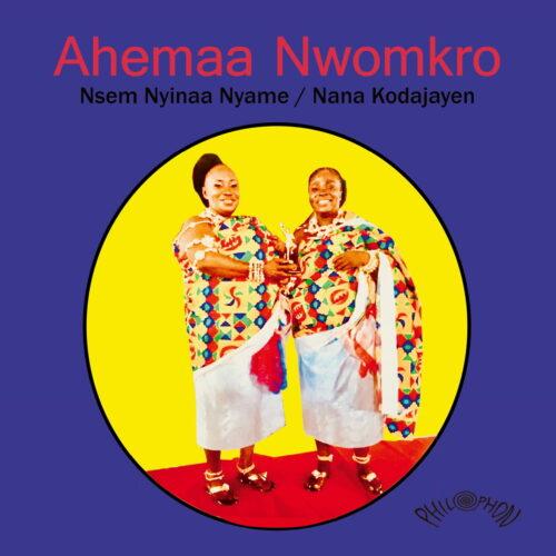 """Aheema Nwomkro Nsem Nyinaa Nyame / Nana Kodajayen Philophon 7"""" Vinyl"""