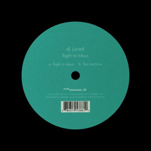 "Jus-Ed Flight To Tokyo Mule Musiq 12"" Vinyl"