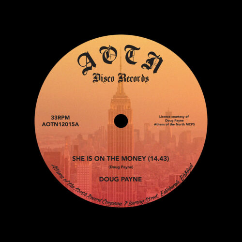 """Doug Payne She Is On The Money / Holiday Athens Of The North 12"""", Reissue Vinyl"""
