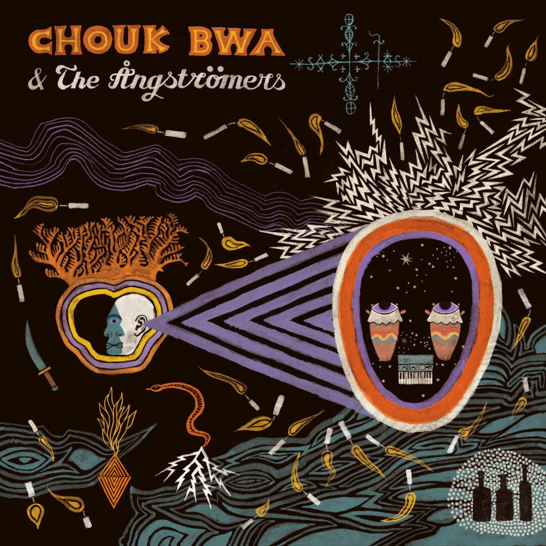 Chouk Bwa, The Angstromers Vodou Alé Bongo Joe LP Vinyl