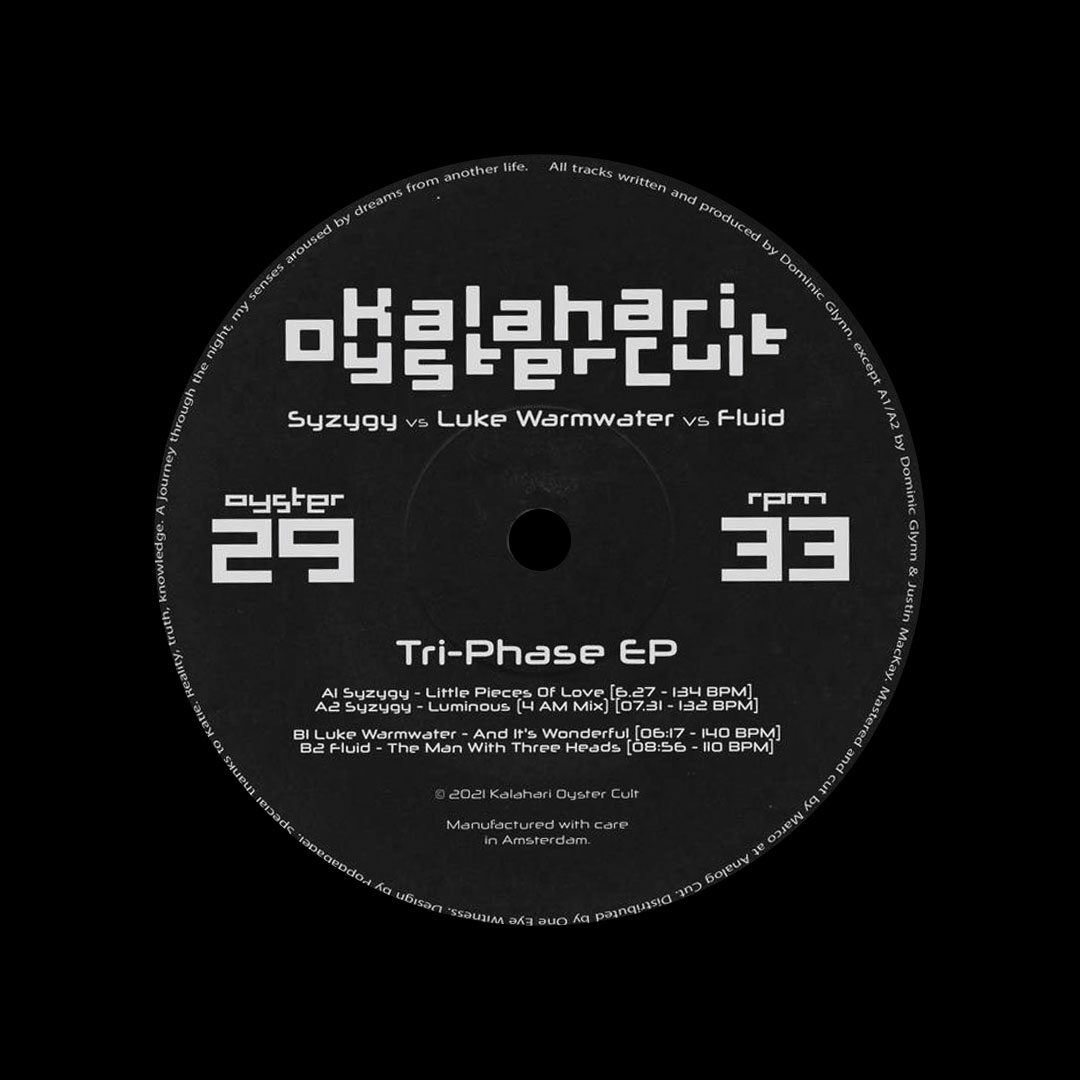"Various The Tri-Phase EP Kalahari Oyster Cult 12"" Vinyl"